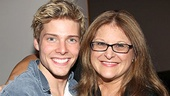 Broadway vocal coach Liz Caplan is on hand to help out Hunter Parrish and his co-stars.