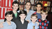 <i>Billy Elliot</i> Third Anniversary – Julian Elia – Trent Kowalik – Peter Mazurowski – Kiril Kulish – Tade Biseinger – David Alvarez – Joseph Harrington