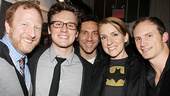 Silence opens  Hunter Bell  Jonathan Groff  Michael Berresse - Susan Blackwell  Jeff Bowen