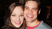 <i>Bonnie & Clyde</I> Birthday Pizza Party – Laura Osnes – Jeremy Jordan