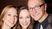 <i>Bonnie & Clyde</I> Birthday Pizza Party - stepmom - Laura Osnes – dad