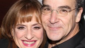 A final shot of two great Broadway stars at the top of their form, Patti LuPone and Mandy Patinkin.