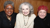 Who's That Woman?:  Broadway favorites Terri White, Mary Beth Peil and Jayne Houdyshell flash dazzling smiles for adoring Follies fans.