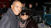 &lt;i&gt;Bonnie &amp; Clyde&lt;/i&gt; opening night  Freddie Jackson  Irene Gandy