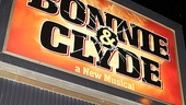<i>Bonnie & Clyde</i> opening night – marquee