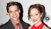 &lt;i&gt;Bonnie &amp; Clyde&lt;/i&gt; opening night  Jeremy Jordan  Laura Osnes 