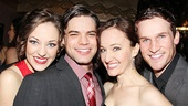 &lt;i&gt;Bonnie &amp; Clyde&lt;/i&gt; opening night  Laura Osnes  Jeremy Jordan  Melissa Van Der Schyff  Claybourne Elder 