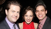 <i>Bonnie & Clyde</i> opening night – Paul Wontorek – Laura Osnes – Jeremy Jordan