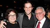 <i>Bonnie & Clyde</i> opening night – Claybourne Elder and his parents