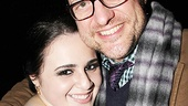 <i>Bonnie & Clyde</i> opening night – Nikki Blonsky – Christopher Seiber