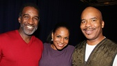 Happy Dust Indeed: Porgy and Bess stars Norm Lewis, Audra McDonald and David Alan Grier, are delighted to be part of such an exhilarating production.