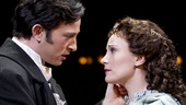 Kyle Barisich as Raoul and Trista Moldovan as Christine in The Phantom of the Opera.