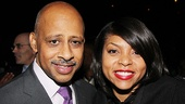 &lt;i&gt;Stick Fly&lt;/i&gt; Opening Night  Ruben Santiago-Hudson  Taraji P. Henson 