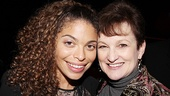 &lt;i&gt;Stick Fly&lt;/i&gt; Opening Night  Erika Rose  Alicia Keys mom Teresa