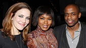 &lt;i&gt;Stick Fly&lt;/i&gt; Opening Night  Rosie Benton  Angela Bassett  Dul Hill