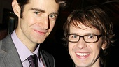 Drew Gehling and David Turner play one corner of the dizzying love triangle in On a Clear Day.