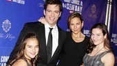 Harry Connick Jr., wife Jill Goodacre and daughters Charlotte and Georgia Tatom Connick take a family photo.