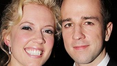 Leading lady Patti Murin makes a pretty picture with her hubby, fellow Broadway performer Curtis Holbrook.