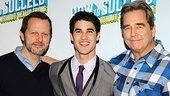 How to Succeed  Darren Criss Opening  Rob Ashford  Darren Criss  Beau Bridges