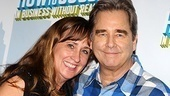 Beau Bridges throws his arm around his wife, Dorothy.
