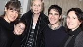 How to Succeed – Jane Lynch Visit – family friend – Haden Embry – Jane Lynch – Darren Criss – Lara Embry