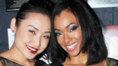 Li Jun Li and Sonequa Martin-Green show off their winning smiles after the show.