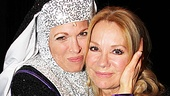 Kathie Lee and Hoda at Sister Act  Carolee Carmello  Kathie Lee Gifford 