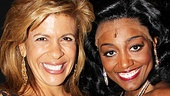 Kathie Lee and Hoda at Sister Act  Hoba Kotb  Patina Miller 