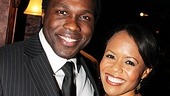 Joshua Henry and Nikki Rene Daniels make quite the handsome pair on stage and off.