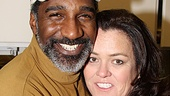 Rosie O'Donnell reconnects with Norm Lewis, who performed on her R Family Vacation Cruise in 2006.