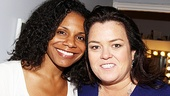 Hardcore Broadway fan Rosie O'Donnell never misses an opportunity to see Audra McDonald on the Great White Way.