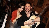 Girls meets Guy! Once stars Cristin Milioti and Steve Kazee are ready to make beautiful music for their show's original cast album. 