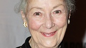 Tony winner and Mecca star Rosemary Harris is ready to head to the opening night party.