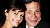 Carla Gugino comes in close for a photo with director Gordon Edelstein.