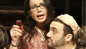 Daniel Oreskes as Misha, Janeane Garofalo as Diana, Morgan Spector as Boris, Raviv Ullman as Alex and Sarah Steele as Mira in Russian Transport.