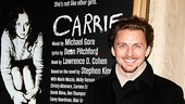 Jason Danieley came out to support his wife, Marin Mazzie, as she took the stage for the first time as Carrie's frightening mother, Margaret White.