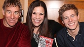 More than 40 years after the musical debuted on Broadway, Godspell composer  Stephen Schwartz and stars Lindsay Mendez and Hunter Parrish flaunt a new cast recording.