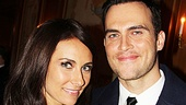"Speaking of ""gorgeous,"" check out this photo of Laura Benanti and Cheyenne Jackson."