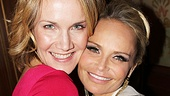 A happy snapshot of Broadway BFFs Erin Dilly and Kristin Chenoweth.