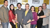 Tribes  Meet and Greet  Russell Harvard  Gayle Rankin  Will Brill  David Cromer  Susan Pourfar  Mare Winningham  Jeff Perry