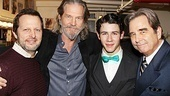 How to Succeed director/choreographer Rob Ashford joins Nick Jonas and Beau Bridges in welcoming Jeff Bridges to Broadway.