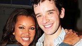 Broadway vet Vanessa Williams gets cozy with her old pal Michael Urie, who wins laughs as schemer Bud Frump in How to Succeed.