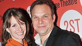 It's Norbert Leo Butz's number one fan, wife Michelle Federer!