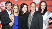 Kevin Cahoon, Marnie Schulenberg, Elizabeth Reaser, Norbert Leo Butz and Jennifer Regan make up the talented company of How I Learned to Drive.