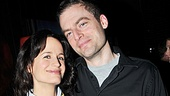 Icing on the cake for Elizabeth Reaser is a welcome back to the New York stage from best bud and Other Desert Cities star Justin Kirk. Congrats!