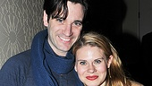 Pals Colin Donnell and Celia Keenan-Bolger take a moment to pose together at the pre-show reception.