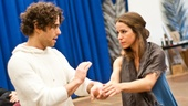 In Rehearsal with Jesus Christ Superstar  Josh Young  Chilina Kennedy 