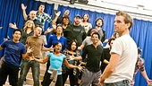 In Rehearsal with Jesus Christ Superstar  Jesus Christ Superstar cast  Paul Nolan 