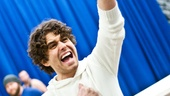 In Rehearsal with Jesus Christ Superstar  Josh Young 