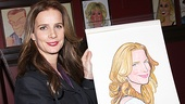 The radiant Rachel Griffiths receives a Sardi's portrait for her Broadway debut in Other Desert Cities. Not bad!